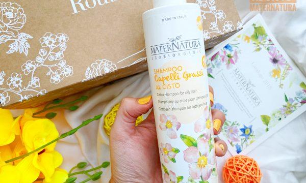 RECENSIONE – Shampoo al Cisto per capelli Grassi – MATERNATURA.