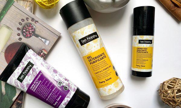 Linea Happy Juice – Bio Happy natural cosmetics – Trattamenti di bellezza specifici per ogni tipologia di pelle