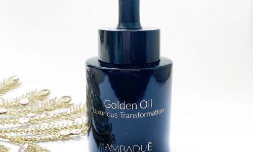 Recensione: GOLDEN OIL LUXURIOUS TRANSFORMATION – Ambadué