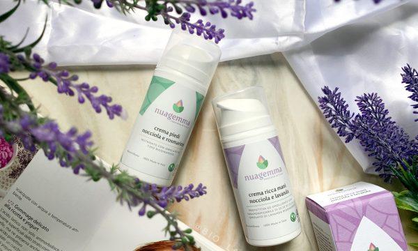 Mani e piedi sani e curati grazie ai prodotti  Nuagemma