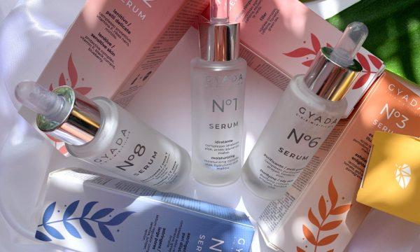 Recensione: SIERI VISO – N.1, N. 6 e N.8 – Gyada Cosmetics