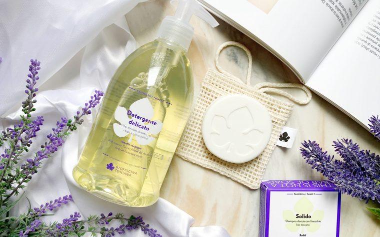 Shampoo Solido & Detergente Delicato – Biofficina Toscana: prodotti sostenibili, pratici ed ecologici che rispettano l'ambiente e la pelle di tutta la famiglia