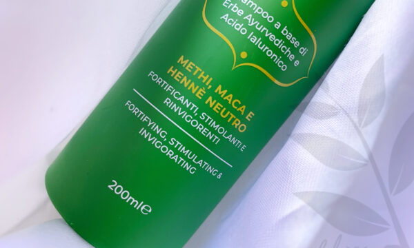 Review: Hyalurvedic Shampoo Fortificante – GYADA COSMETICS – con Methi, Maca, Hennè Neutro