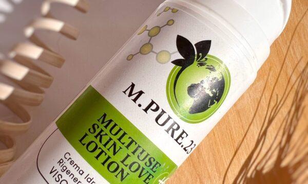 MULTIUSE SKIN LOVE LOTION – M.PURE.23: Lozione Idratante e rigenerante multiuso e versatile, per la bellezza di viso e corpo